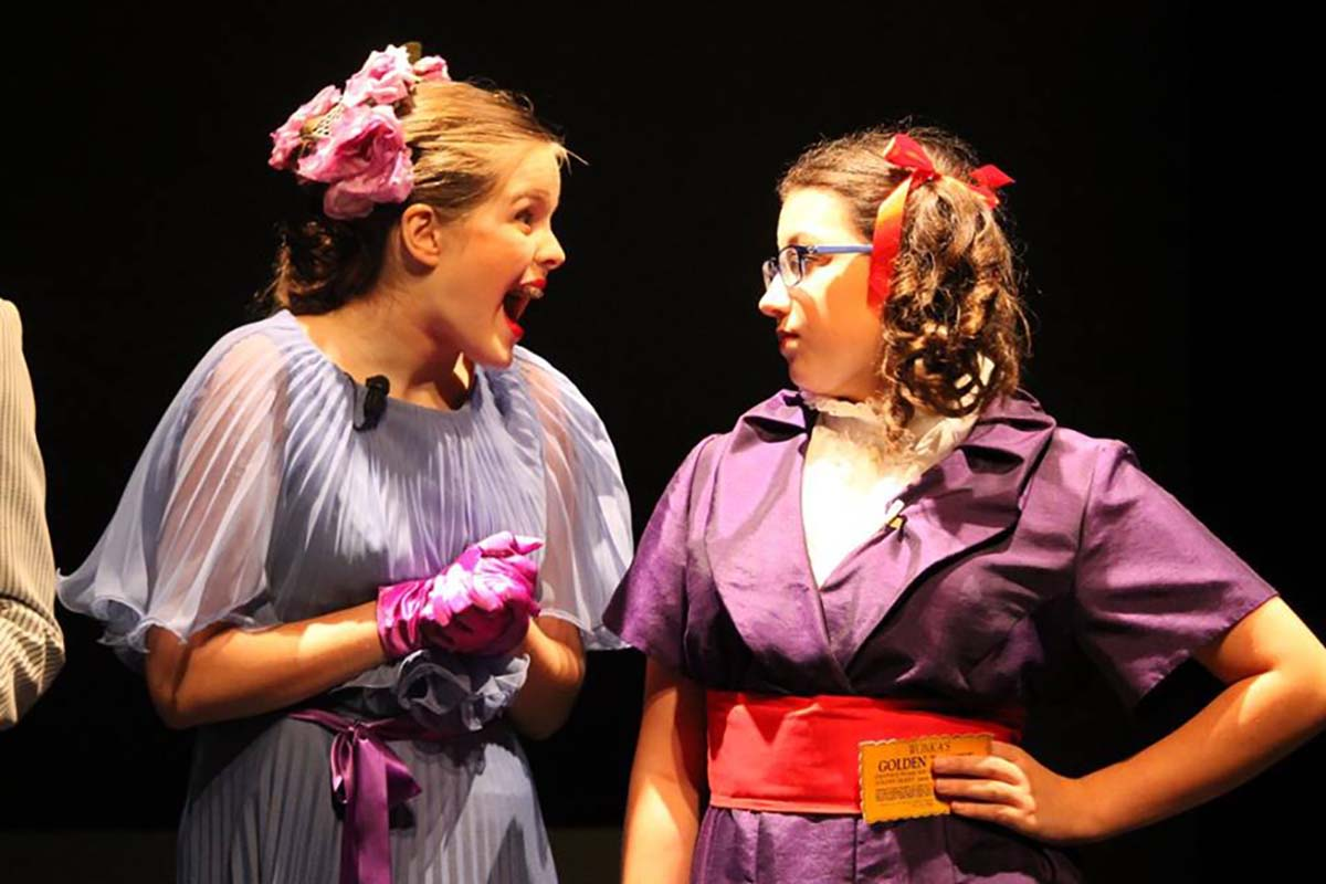 Hannah Nolan and Heather Hayes in Willy Wonka Summer of 2016