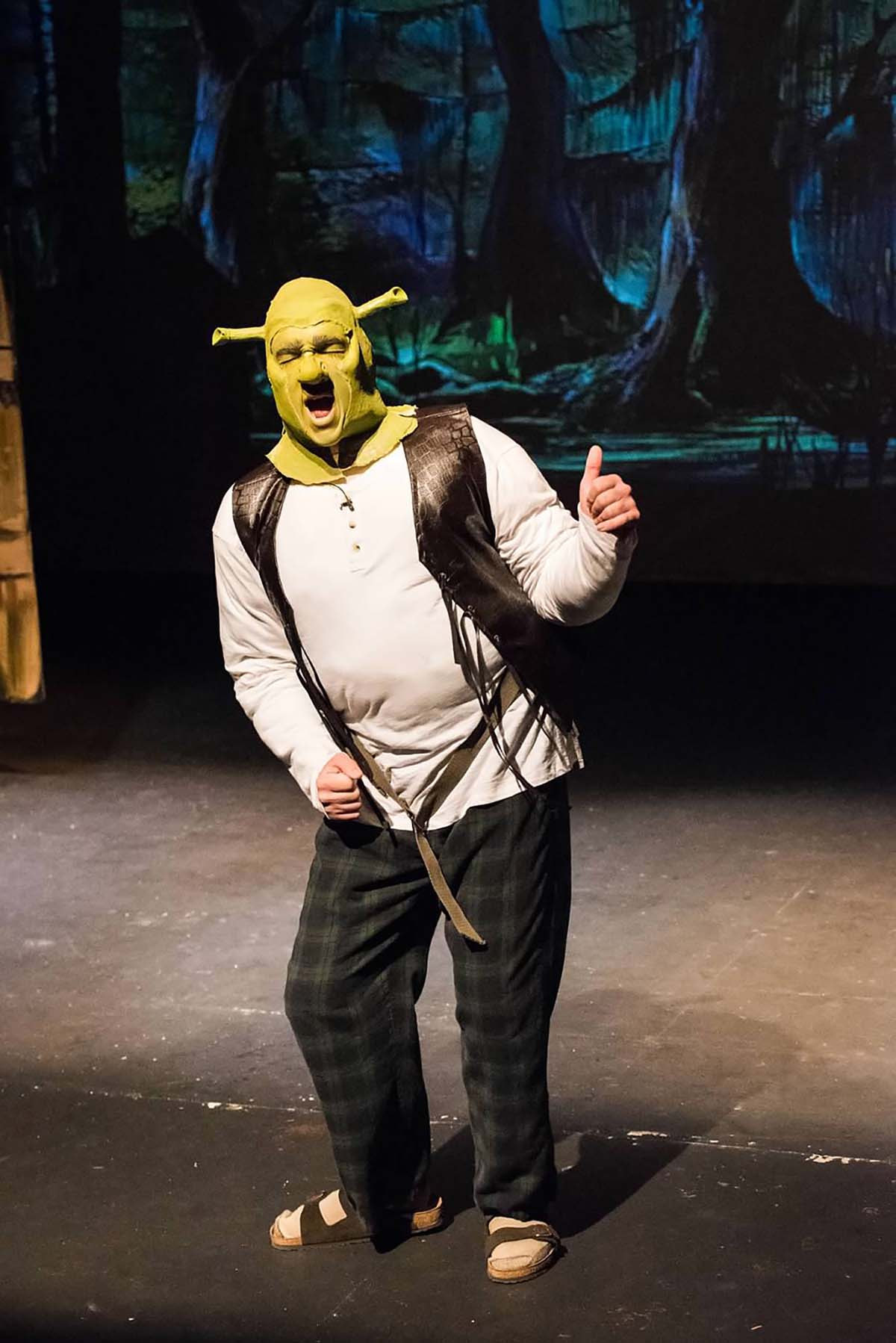Tyler Vaughn at Shrek