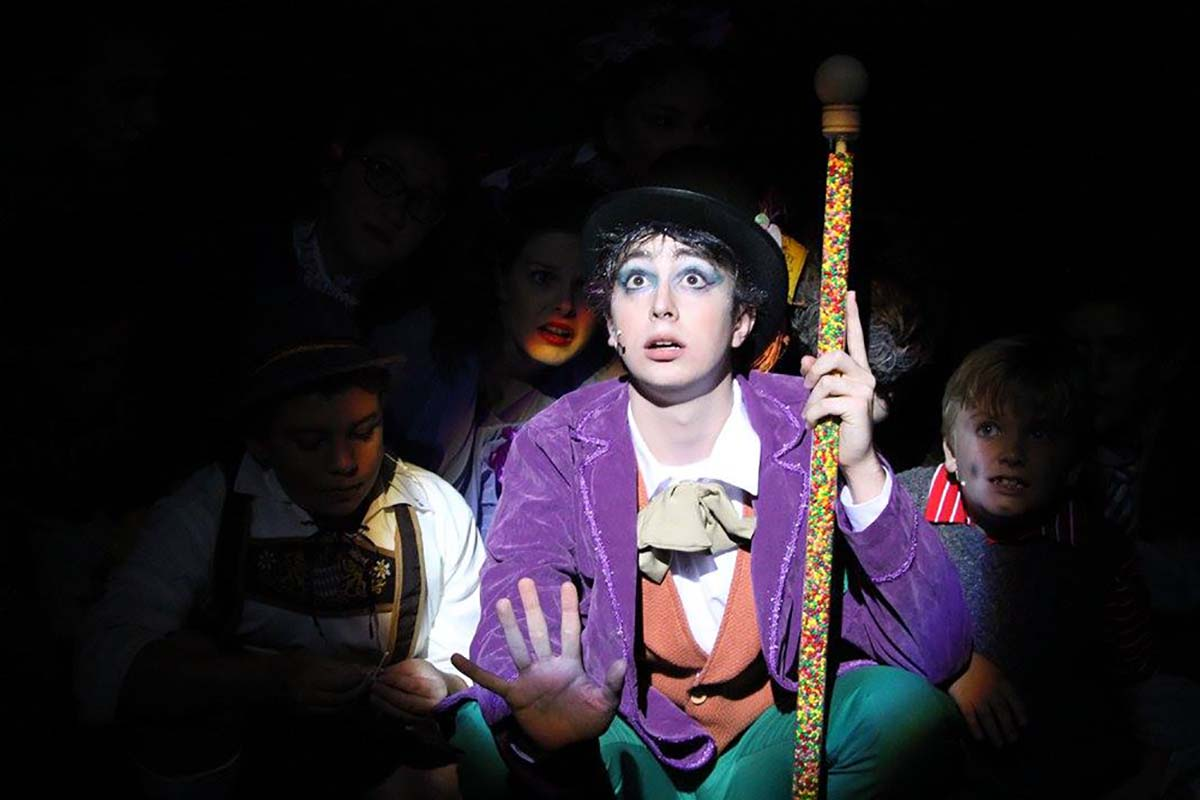 Vincent Murphy as Willy Wonka